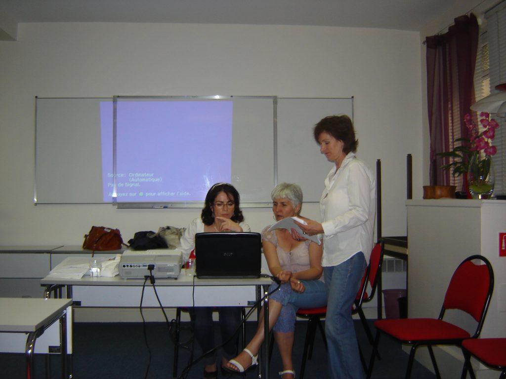 Лектор на курс по Интегрална медицина в Париж